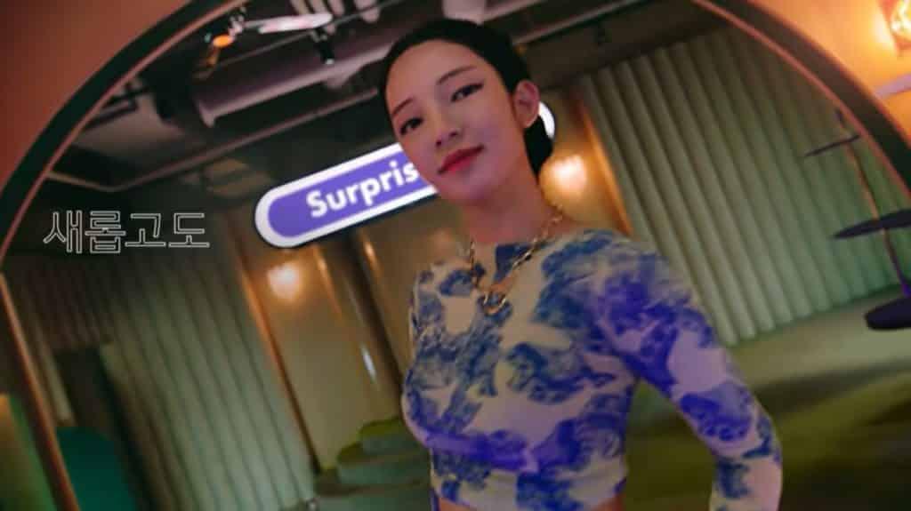 신한라이프 광고모델 22살 모델 로지