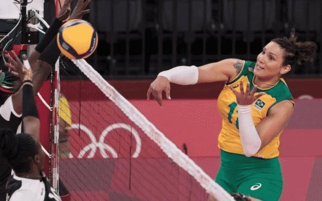 브라질 여자배구 공격수 도핑 적발