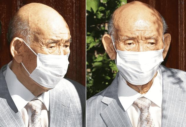 전두환 항소심 재판 위해 광주법원 출석